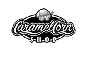 Thrive Marketing Customer Caramel Corn Shop Logo